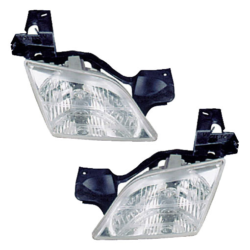 Pontiac Trans Sport                    Headlight Assembly PairHeadlight Assembly Pair
