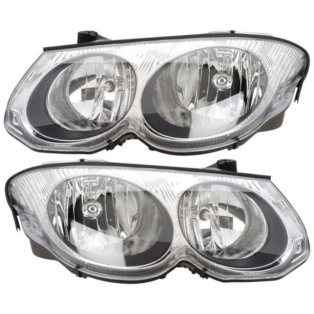 Chrysler 300M                           Headlight Assembly PairHeadlight Assembly Pair