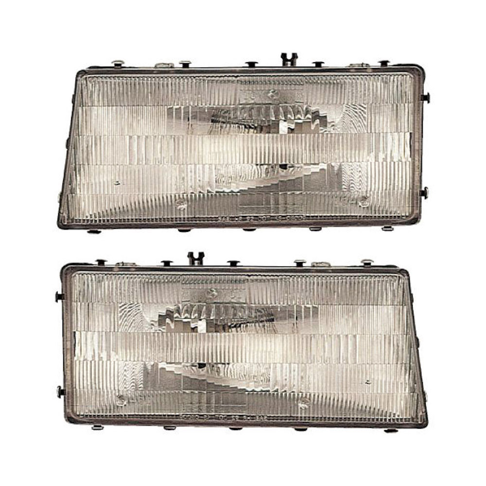 Plymouth Acclaim                        Headlight Assembly PairHeadlight Assembly Pair