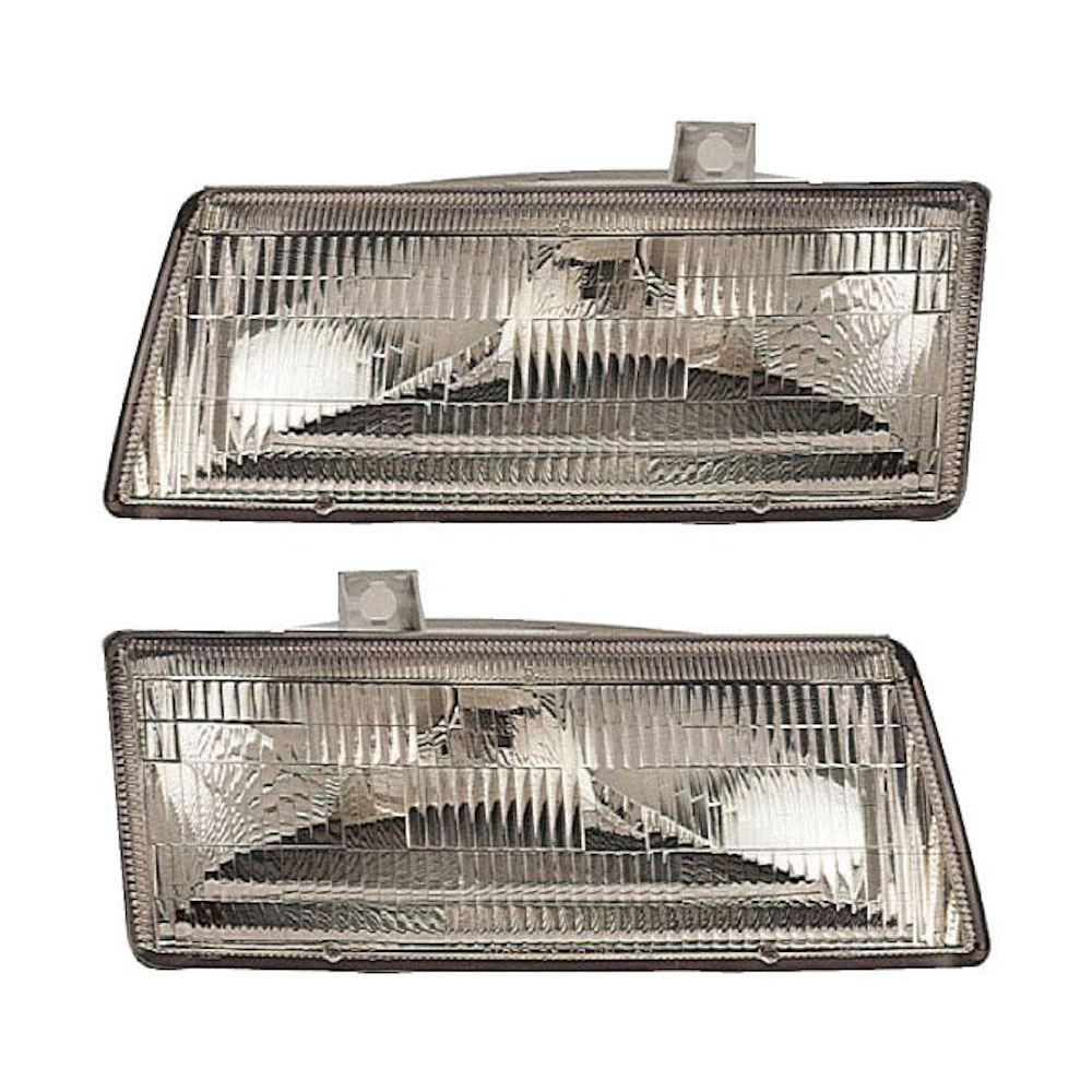 Dodge Caravan                        Headlight Assembly PairHeadlight Assembly Pair