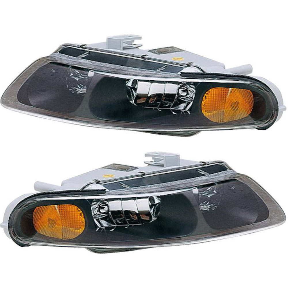 Dodge Avenger                        Headlight Assembly PairHeadlight Assembly Pair