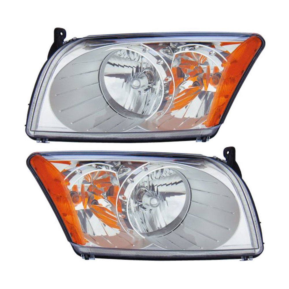 Dodge Caliber                        Headlight Assembly PairHeadlight Assembly Pair