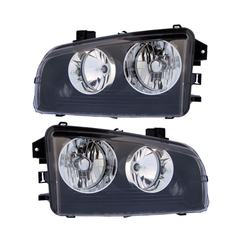 Dodge Charger                        Headlight Assembly PairHeadlight Assembly Pair