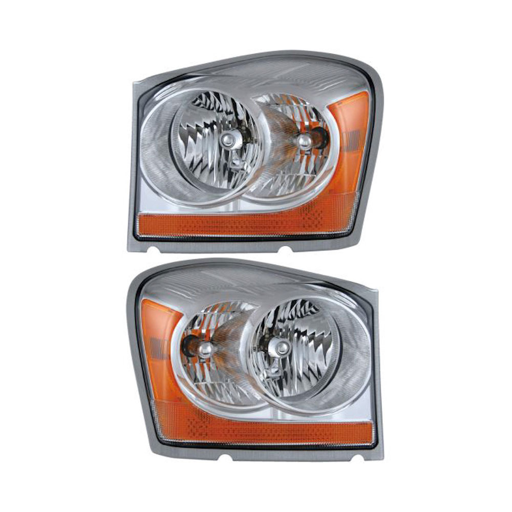 Dodge Durango                        Headlight Assembly PairHeadlight Assembly Pair
