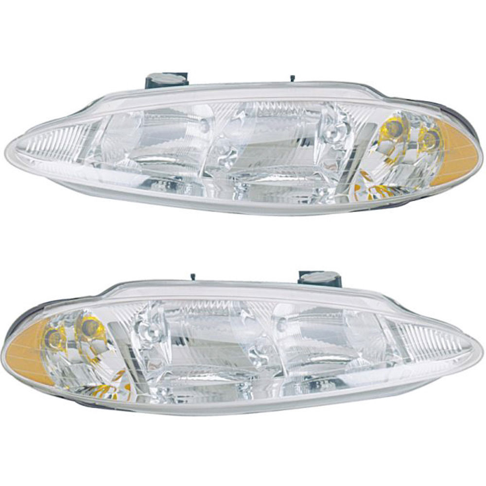 Dodge Intrepid                       Headlight Assembly PairHeadlight Assembly Pair