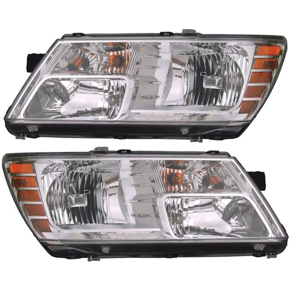 Dodge Journey                        Headlight Assembly PairHeadlight Assembly Pair