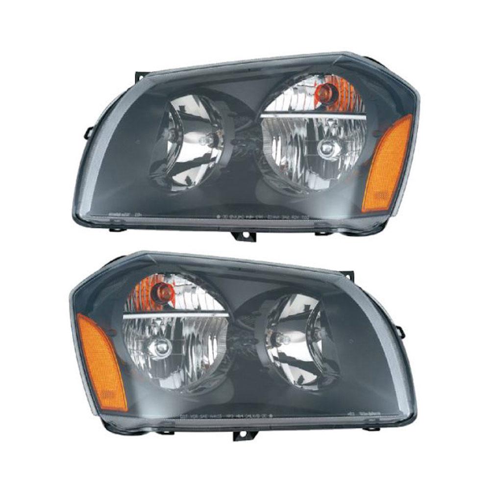 Dodge Magnum                         Headlight Assembly Pair