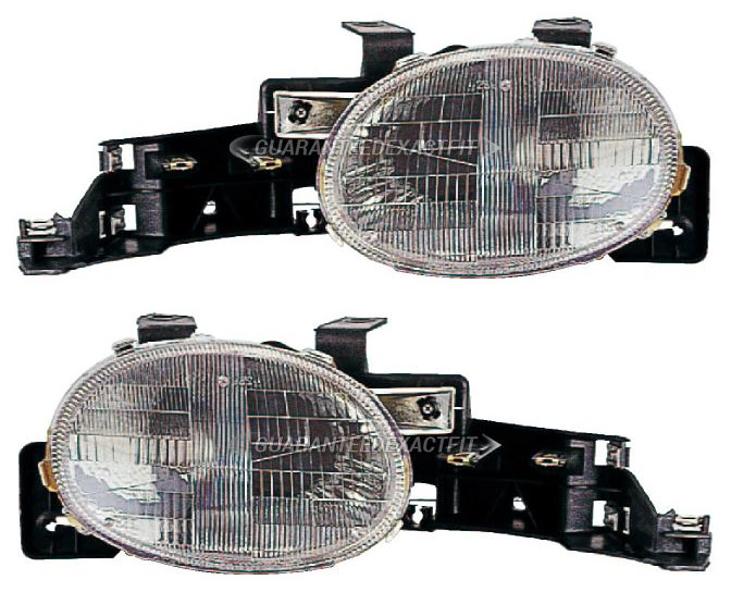 Dodge Neon                           Headlight Assembly PairHeadlight Assembly Pair