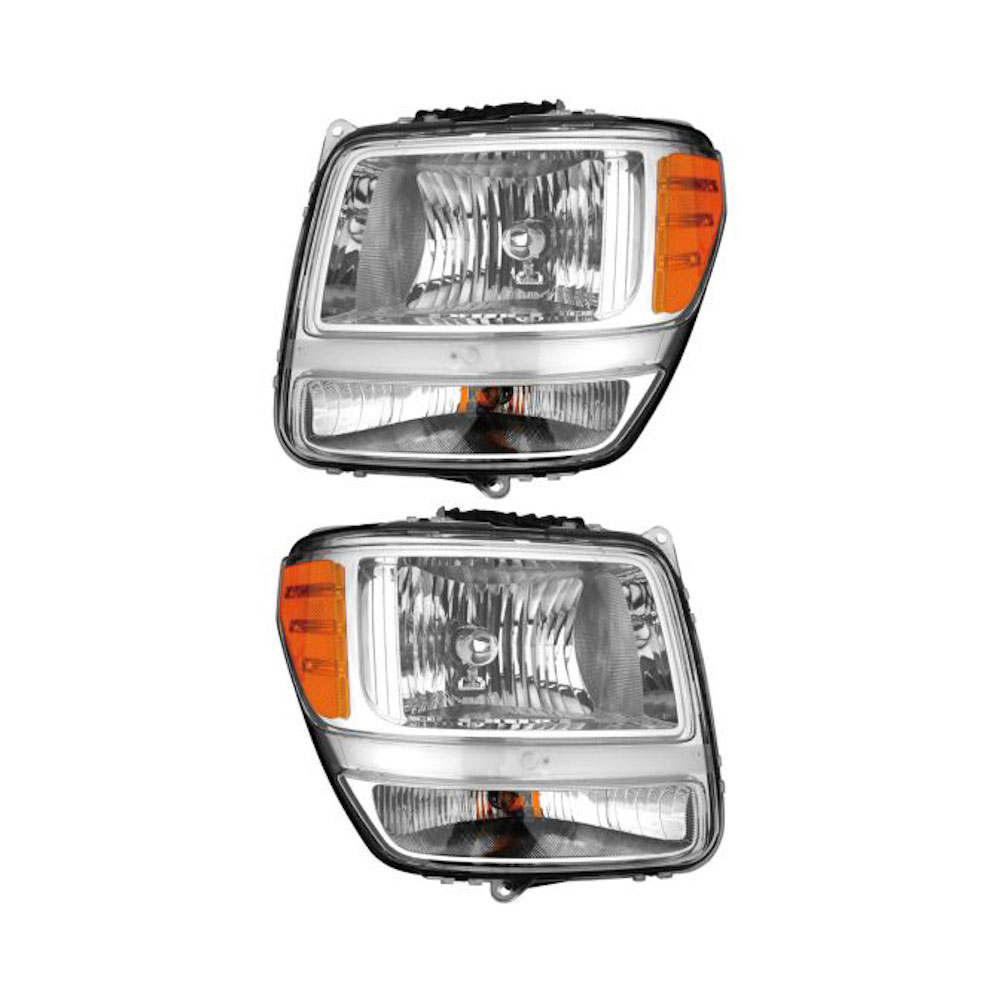 Dodge Nitro                          Headlight Assembly PairHeadlight Assembly Pair