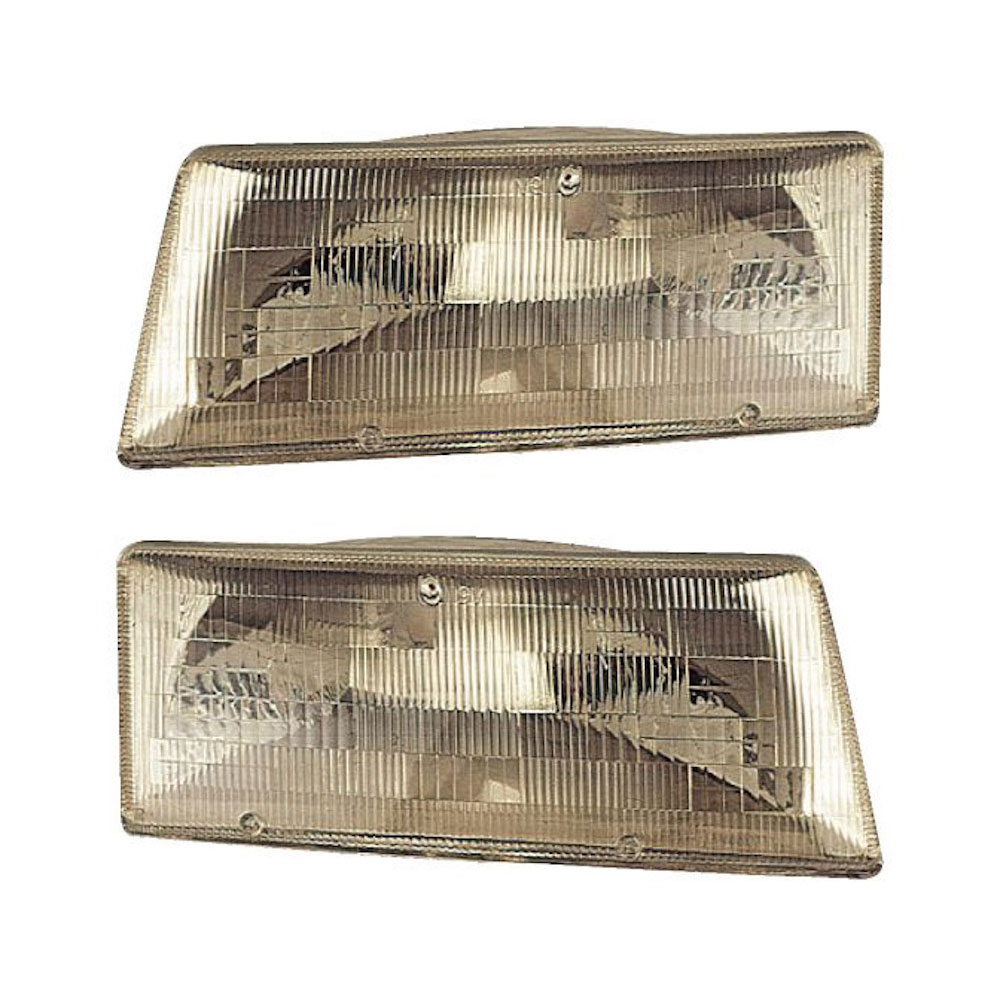 Dodge Shadow                         Headlight Assembly PairHeadlight Assembly Pair