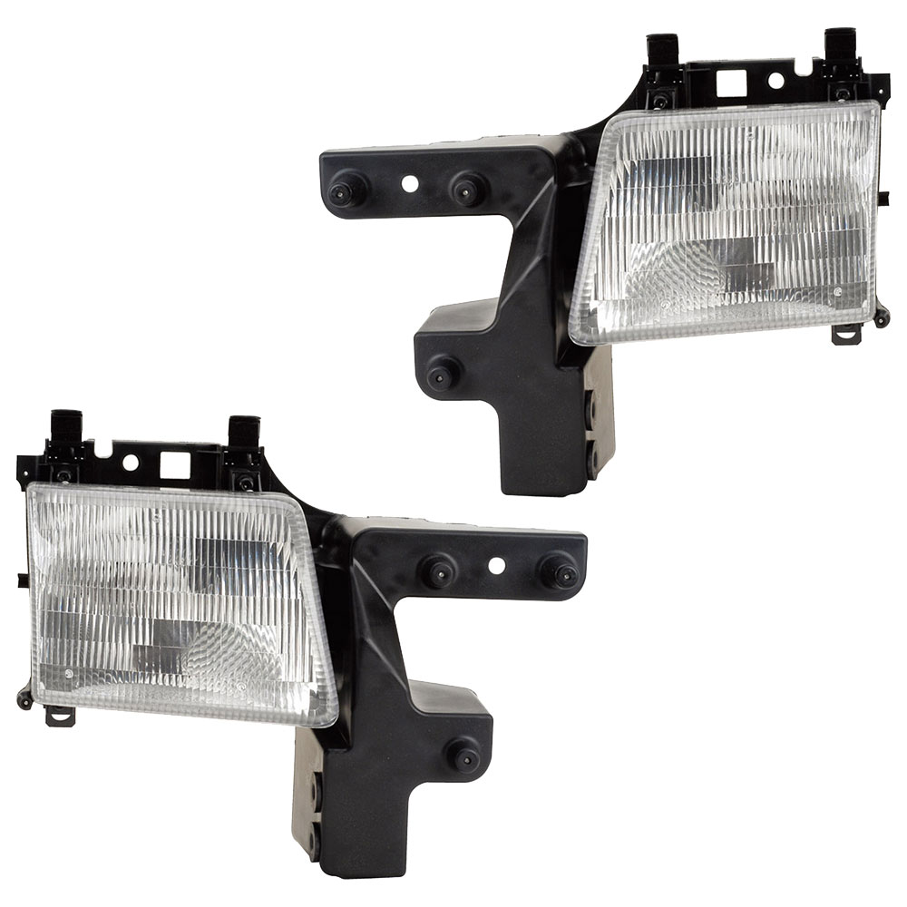 Dodge A Series Van                   Headlight Assembly PairHeadlight Assembly Pair