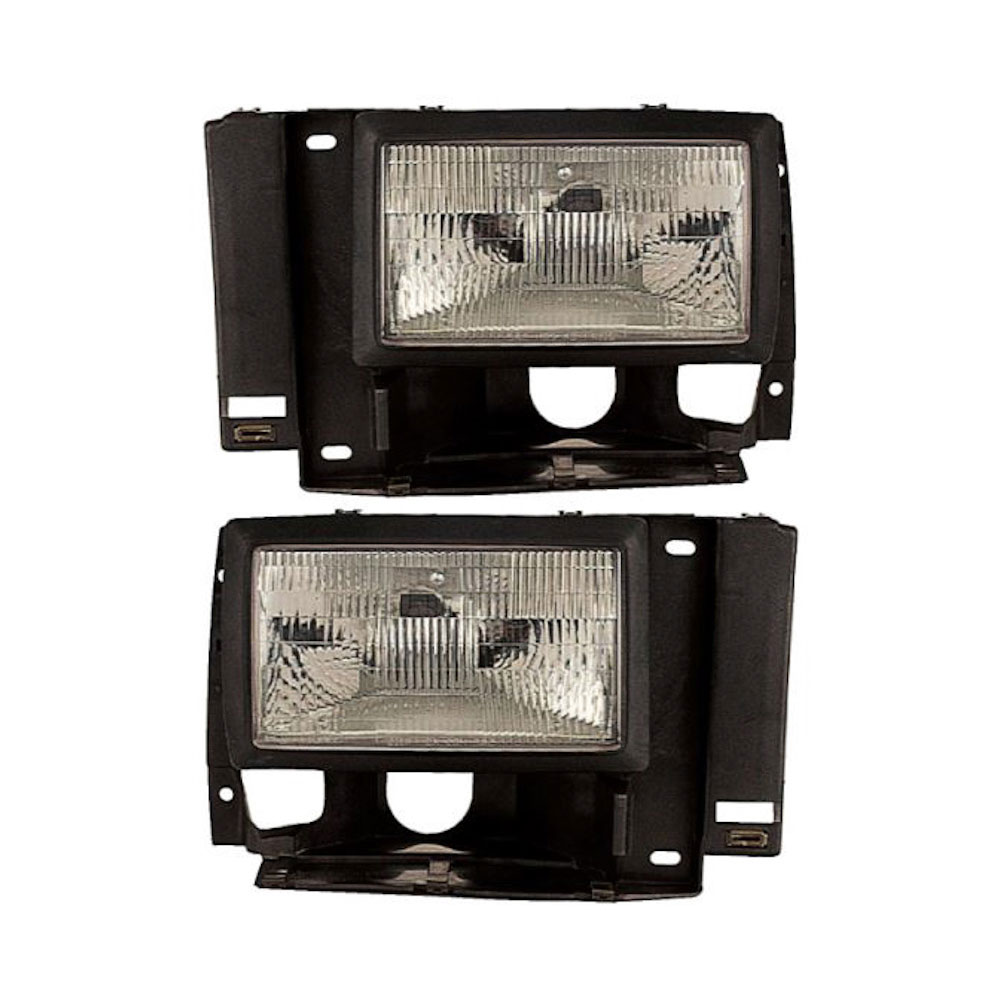 Ford Explorer                       Headlight Assembly PairHeadlight Assembly Pair