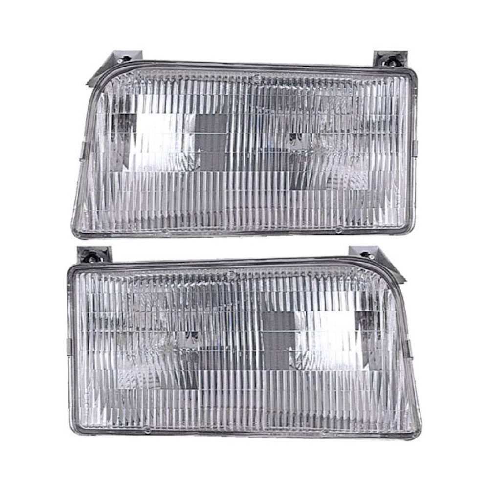 Ford F Series Trucks                Headlight Assembly PairHeadlight Assembly Pair