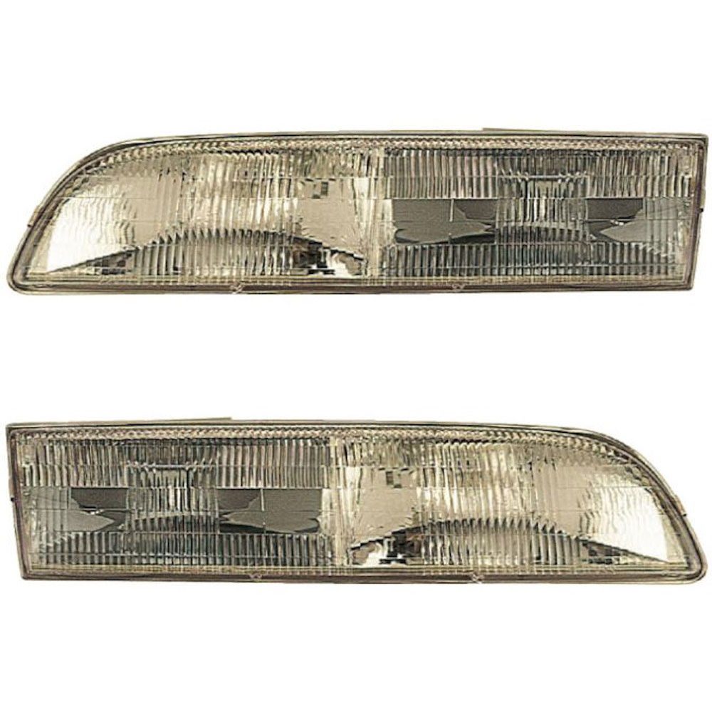 Ford Crown Victoria                 Headlight Assembly PairHeadlight Assembly Pair