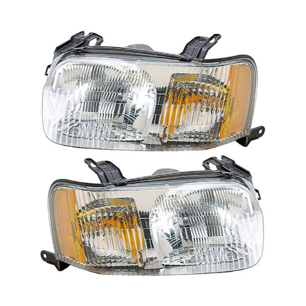 Ford Escape                         Headlight Assembly Pair