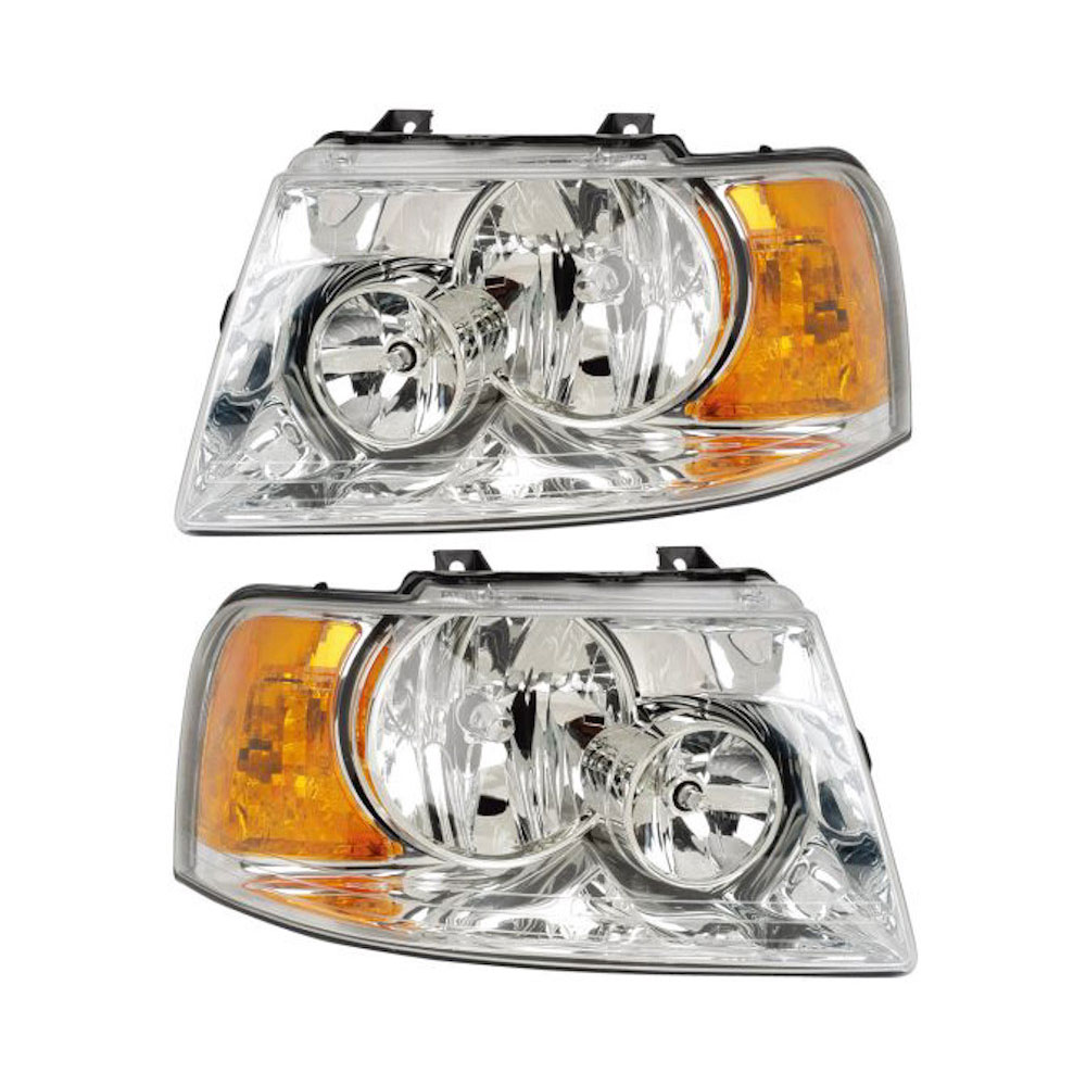 Ford Expedition                     Headlight Assembly PairHeadlight Assembly Pair