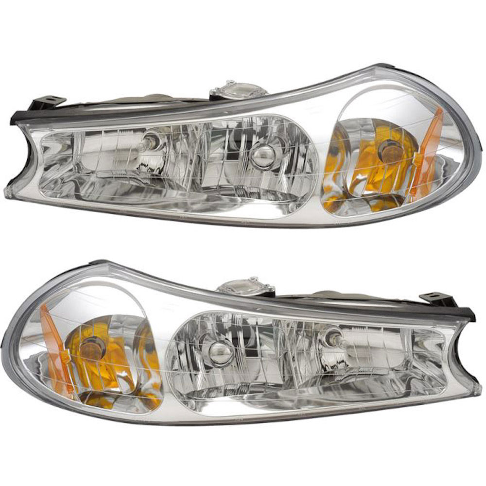 Ford Focus                          Headlight Assembly PairHeadlight Assembly Pair