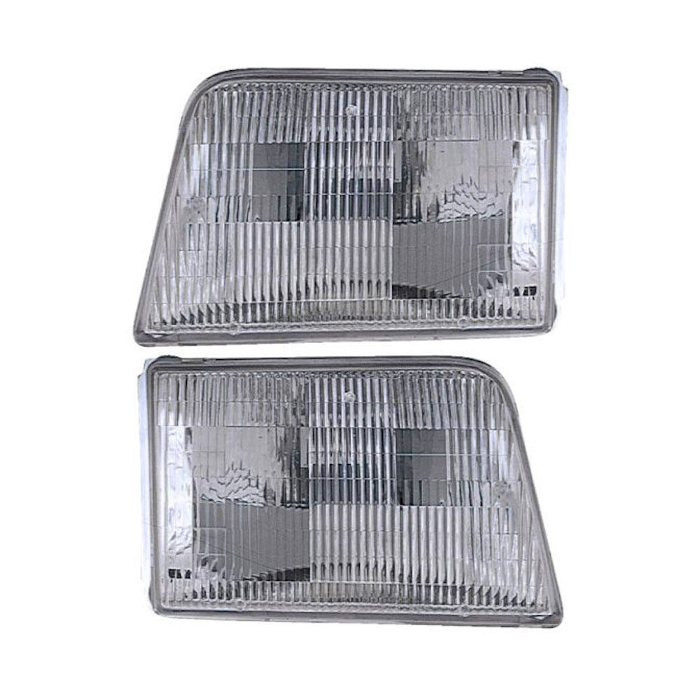 Ford Ranger                         Headlight Assembly PairHeadlight Assembly Pair