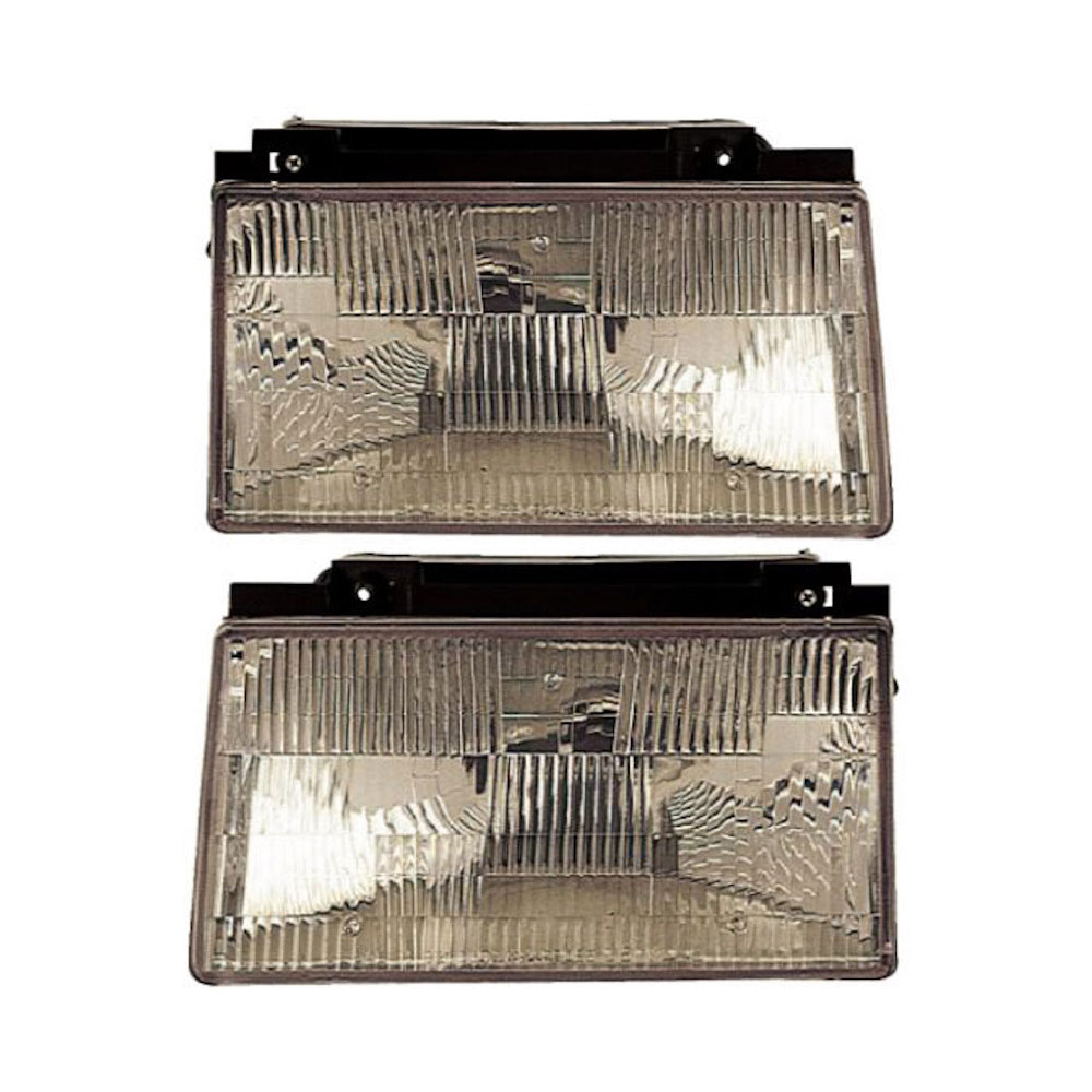 Mercury Topaz                          Headlight Assembly PairHeadlight Assembly Pair