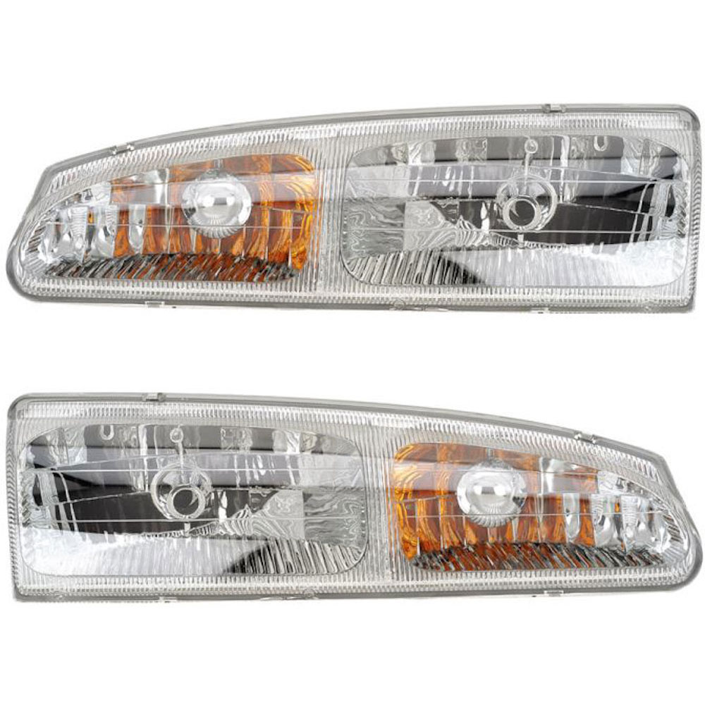 Ford Thunderbird                    Headlight Assembly PairHeadlight Assembly Pair