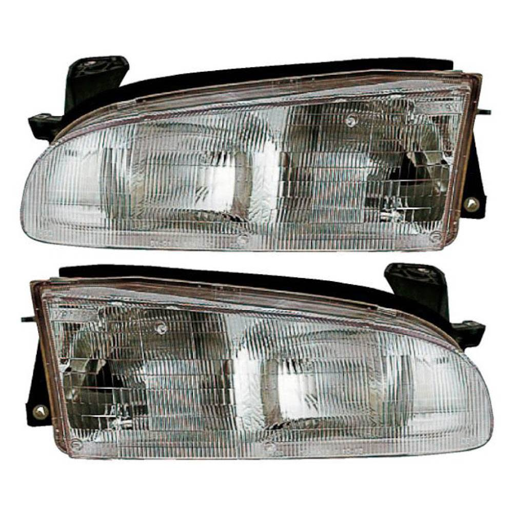 Geo Prizm                          Headlight Assembly PairHeadlight Assembly Pair