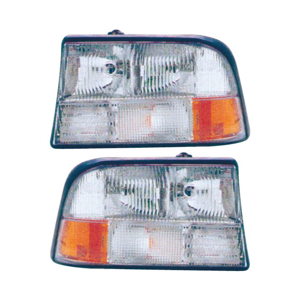 GMC Jimmy                          Headlight Assembly PairHeadlight Assembly Pair