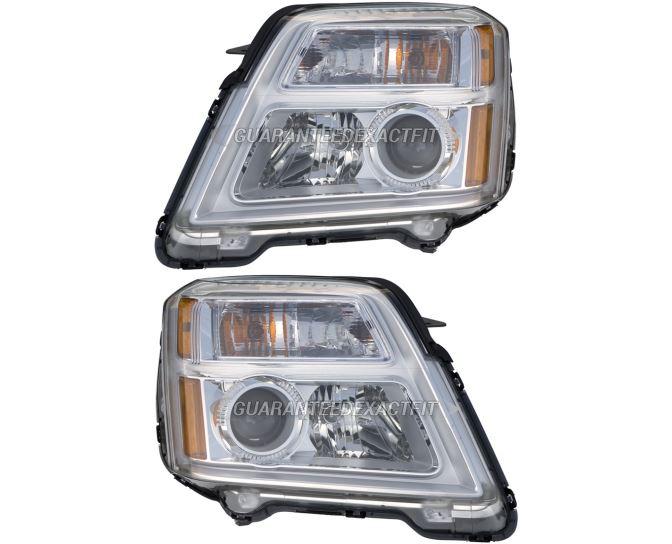 GMC Terrain                        Headlight Assembly Pair