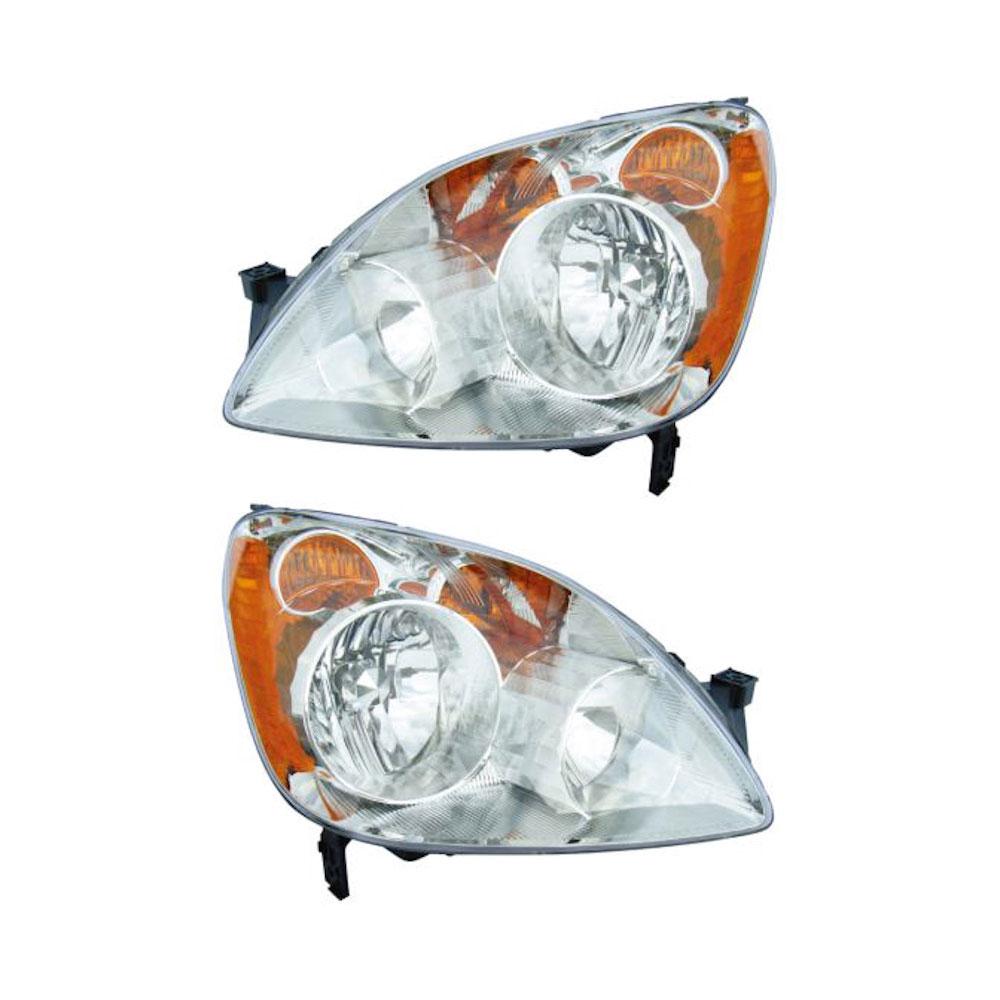 Honda CRV                            Headlight Assembly PairHeadlight Assembly Pair