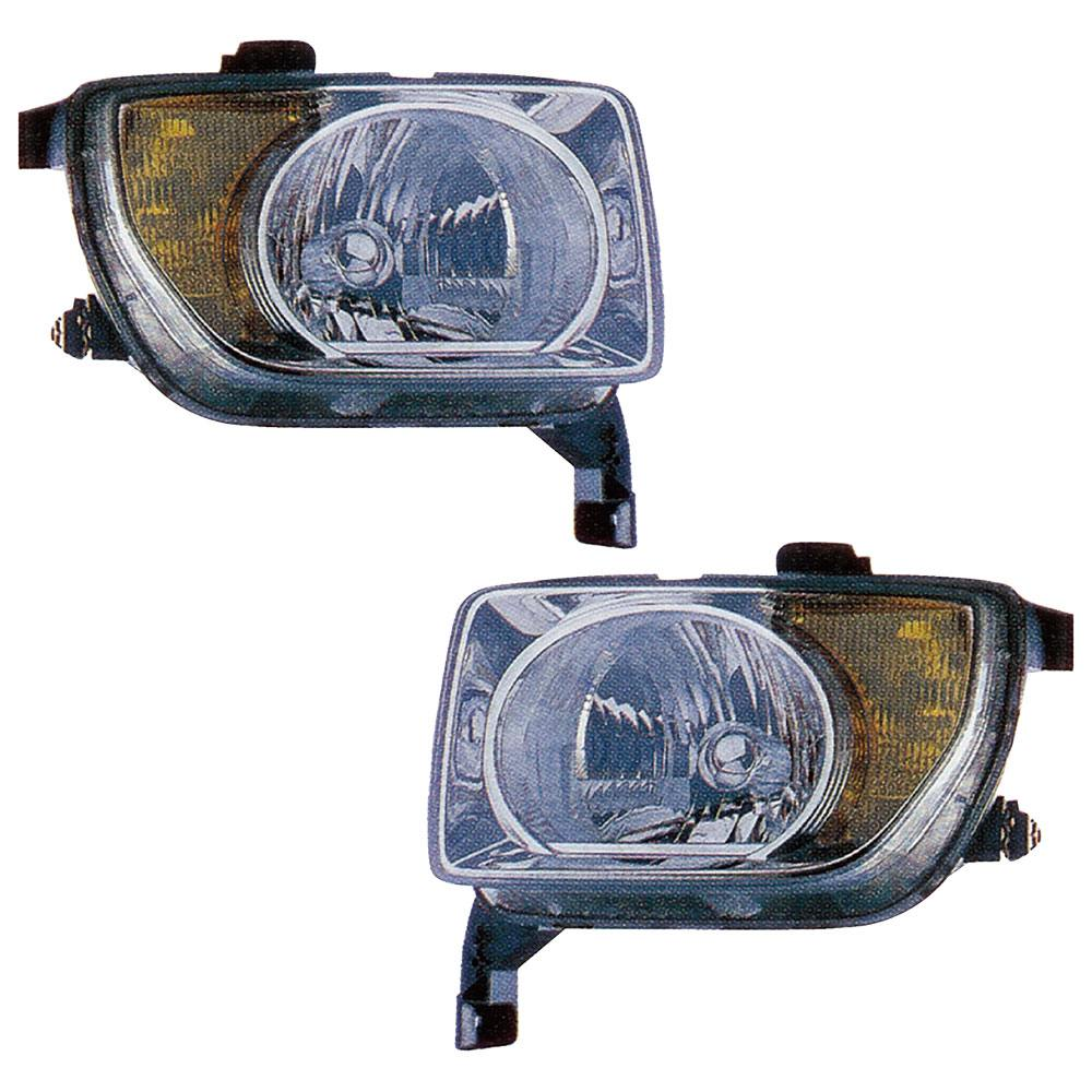 Honda Element                        Headlight Assembly PairHeadlight Assembly Pair