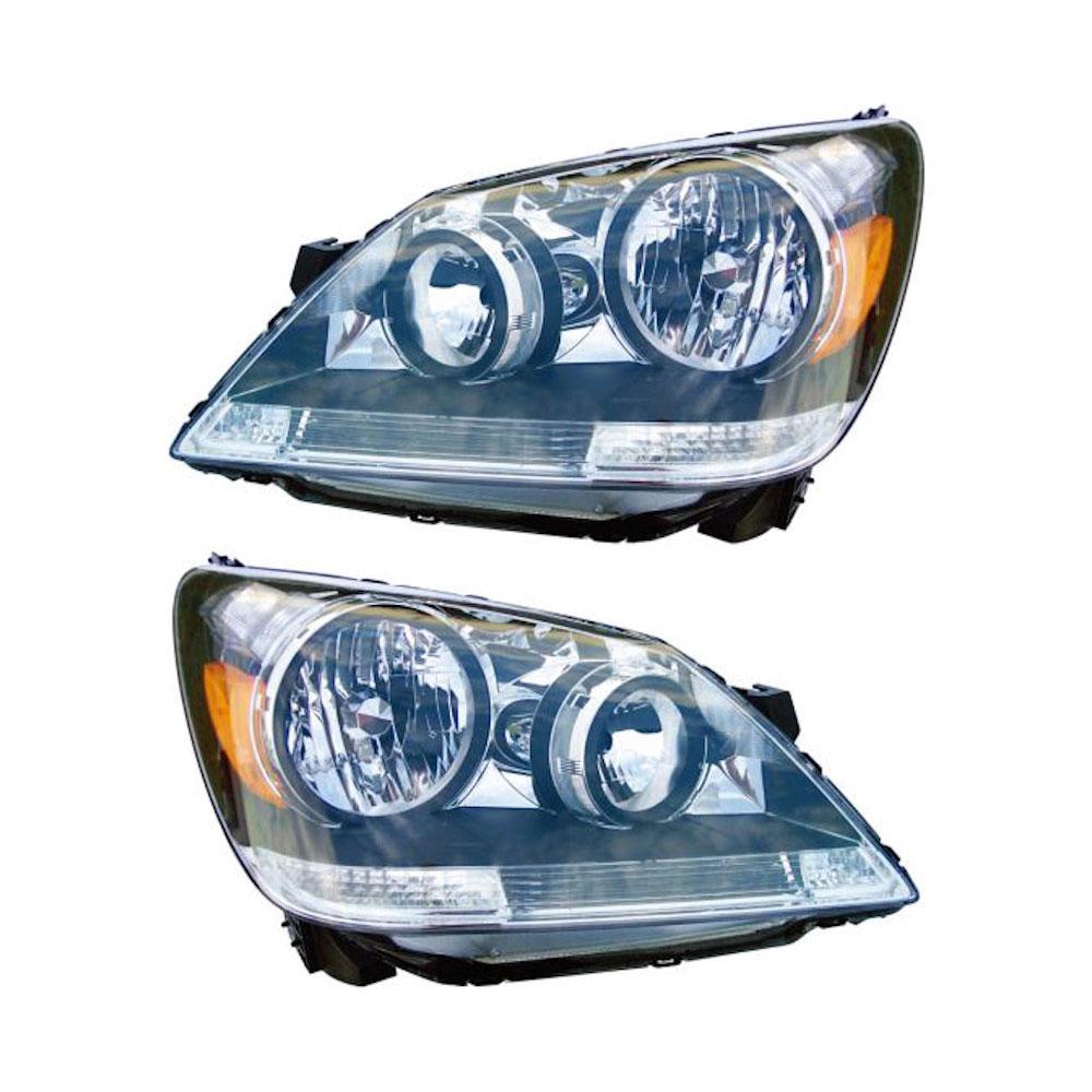 Honda Odyssey                        Headlight Assembly PairHeadlight Assembly Pair