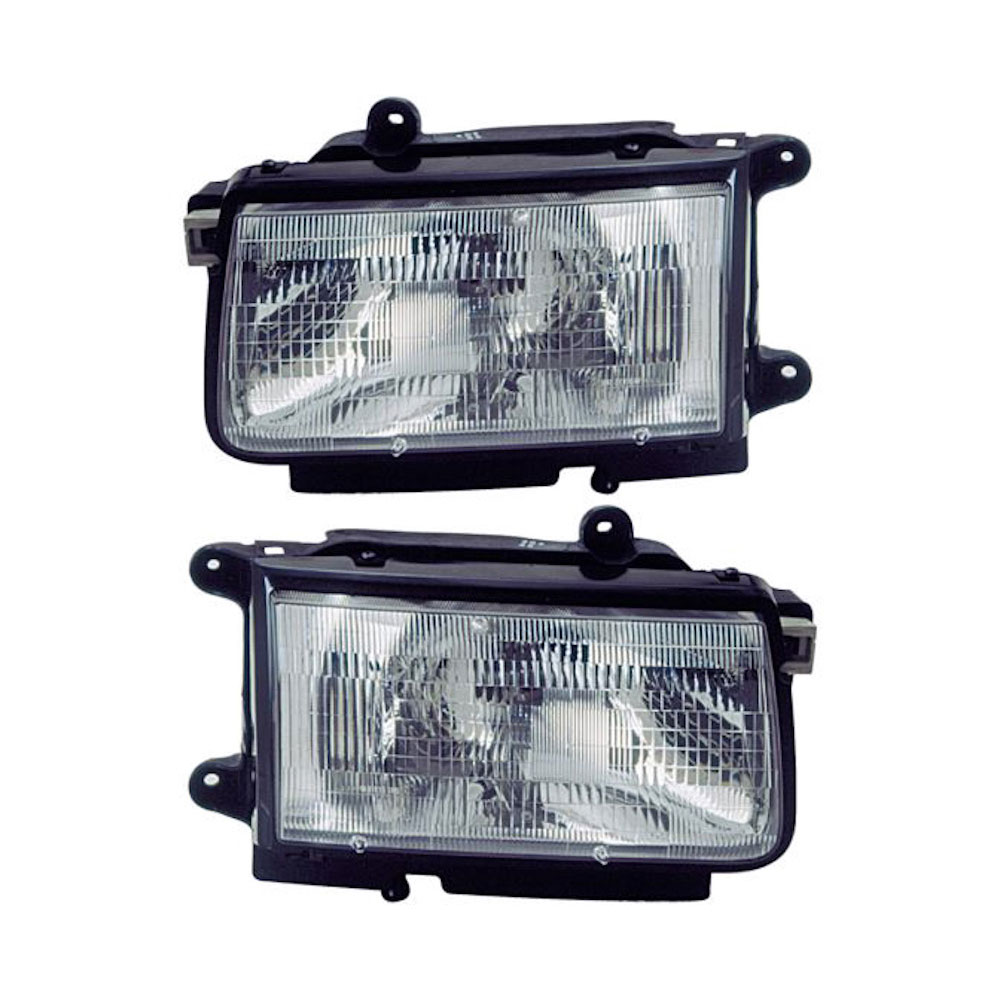 Isuzu Rodeo                          Headlight Assembly PairHeadlight Assembly Pair