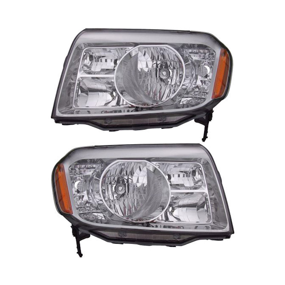 Honda Pilot                          Headlight Assembly PairHeadlight Assembly Pair
