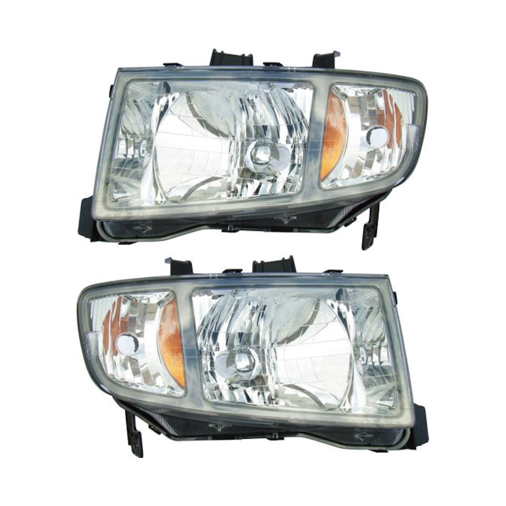Honda Ridgeline                      Headlight Assembly PairHeadlight Assembly Pair