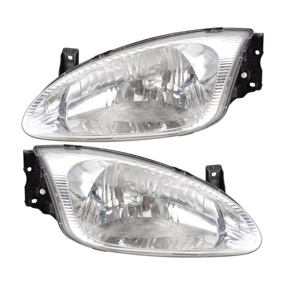Hyundai Elantra                        Headlight Assembly PairHeadlight Assembly Pair