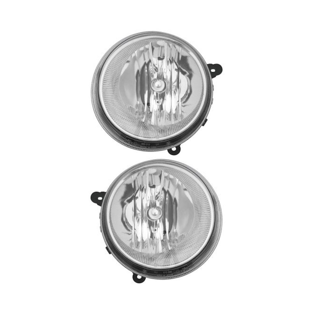 Jeep Compass                        Headlight Assembly PairHeadlight Assembly Pair