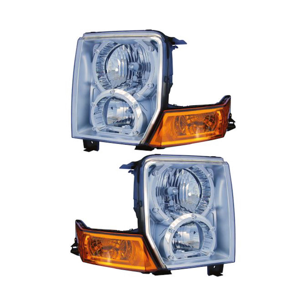 Jeep Commander                      Headlight Assembly PairHeadlight Assembly Pair