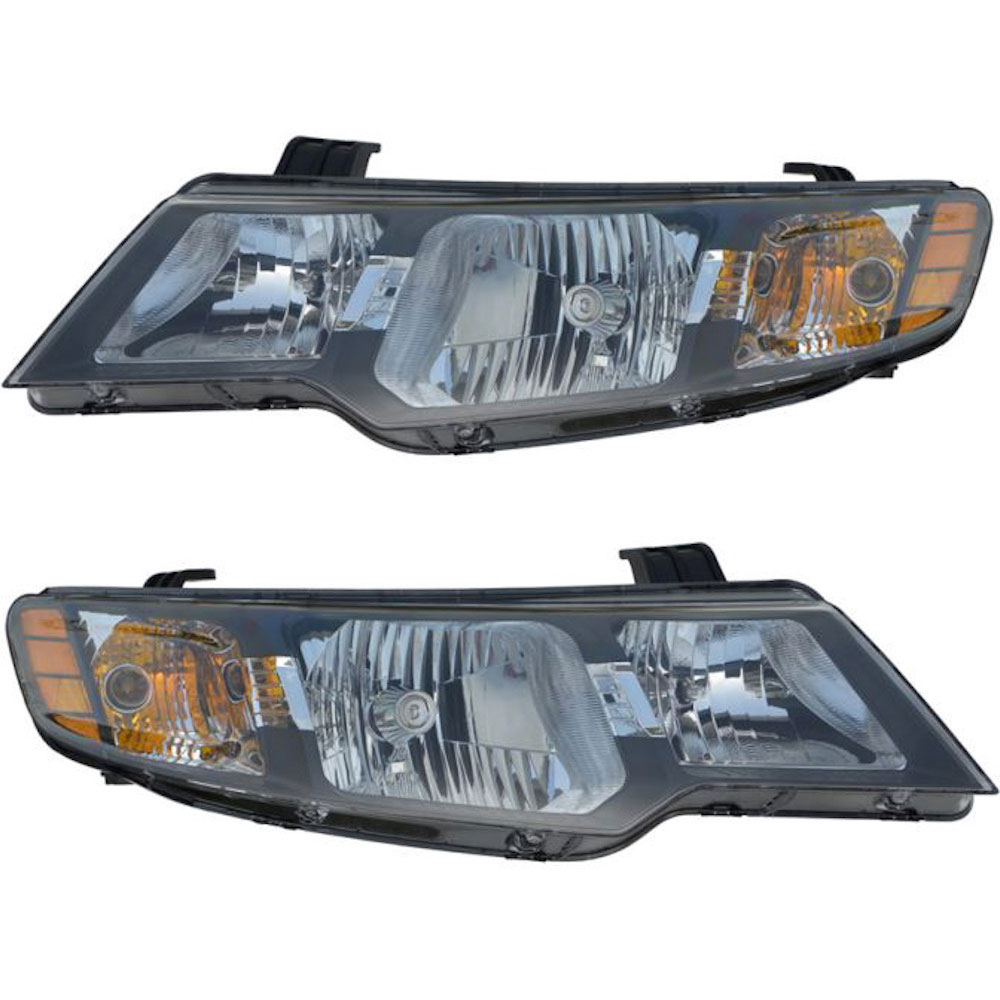 Kia Forte                          Headlight Assembly PairHeadlight Assembly Pair
