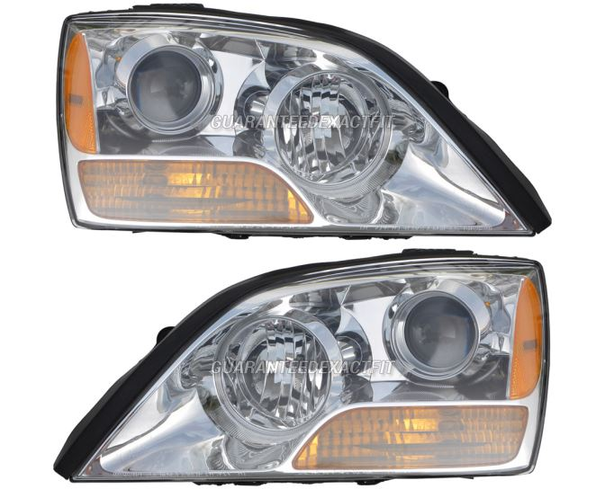 Kia Sorento                        Headlight Assembly PairHeadlight Assembly Pair