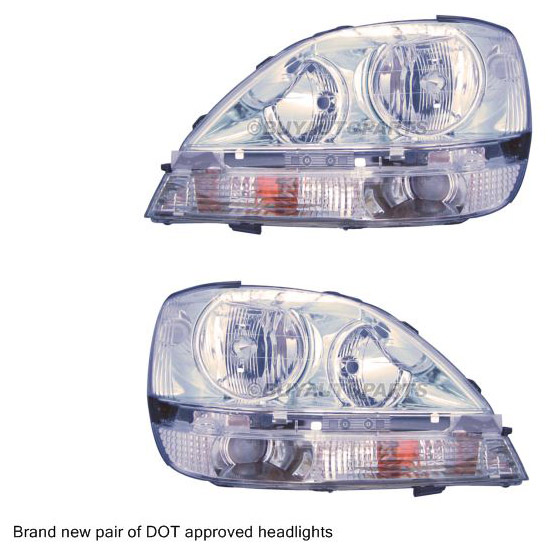 Lexus RX300                          Headlight Assembly PairHeadlight Assembly Pair