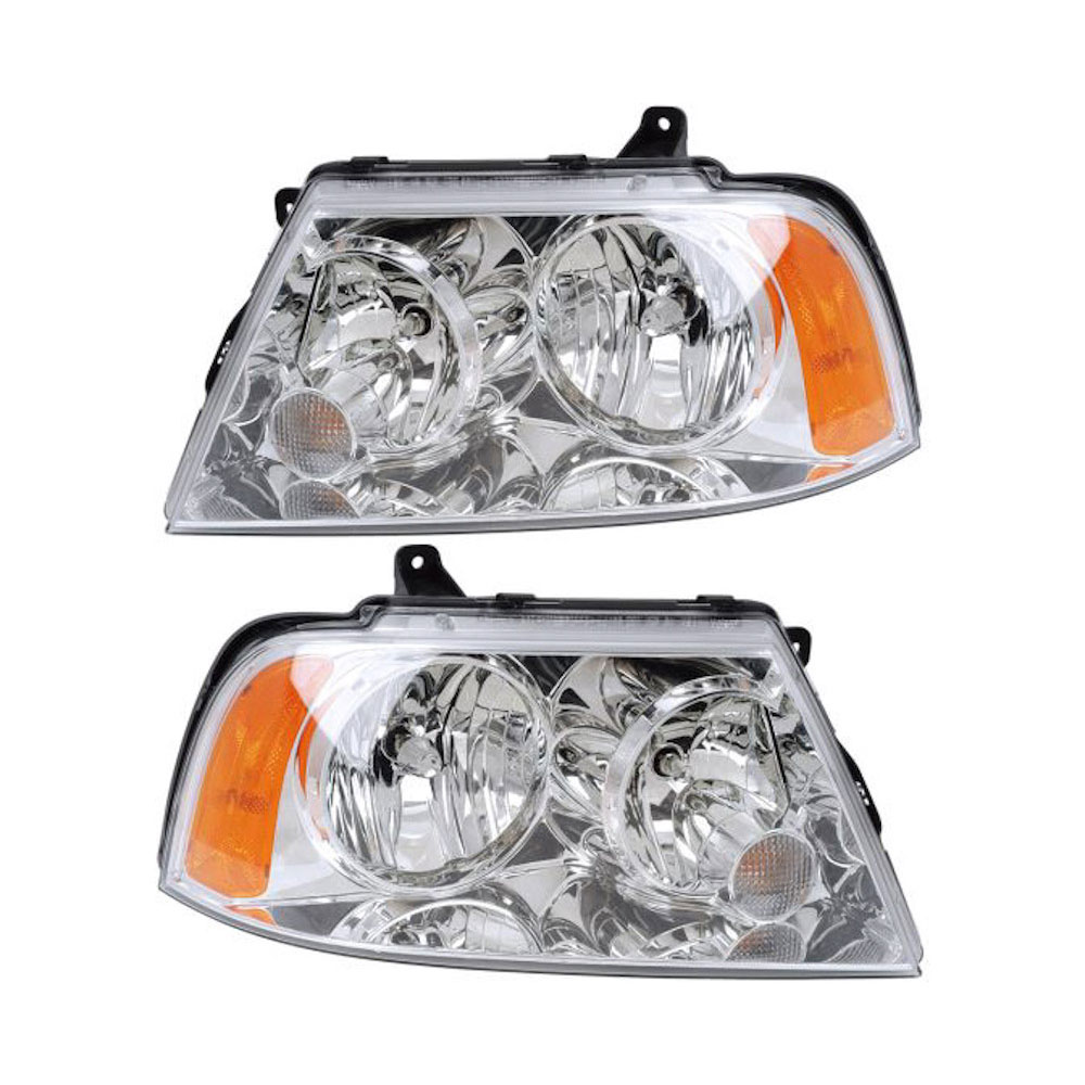 Lincoln Navigator                      Headlight Assembly PairHeadlight Assembly Pair