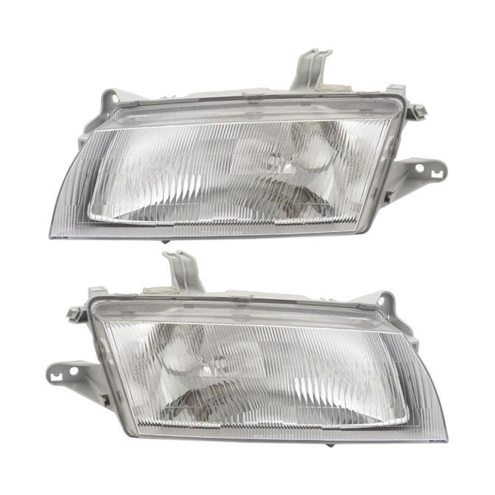 Mazda 323                            Headlight Assembly PairHeadlight Assembly Pair