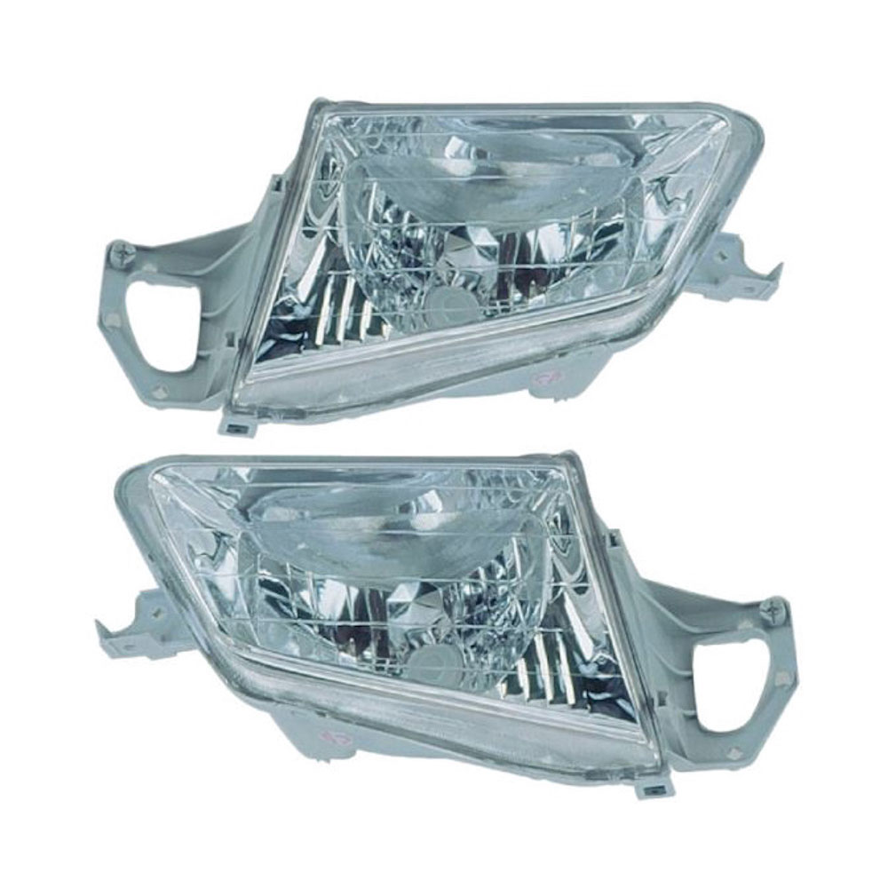 Mazda Protege                        Headlight Assembly PairHeadlight Assembly Pair