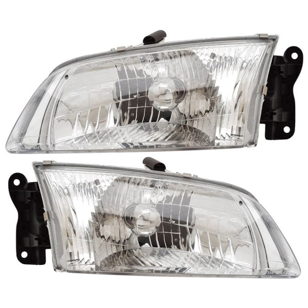 Mazda 626                            Headlight Assembly PairHeadlight Assembly Pair