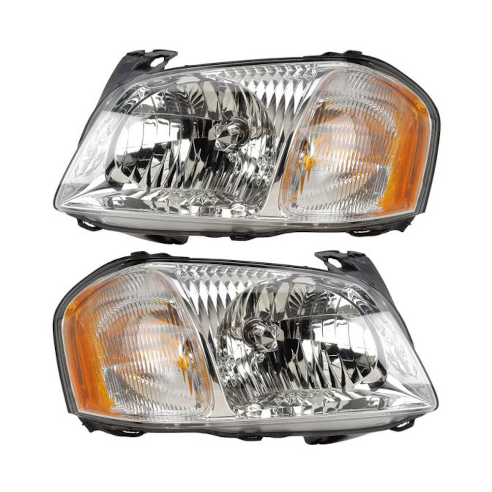 Mazda Tribute                        Headlight Assembly PairHeadlight Assembly Pair
