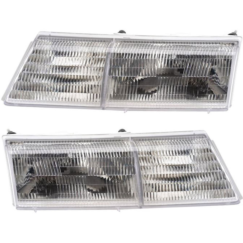 Mercury Cougar                         Headlight Assembly PairHeadlight Assembly Pair