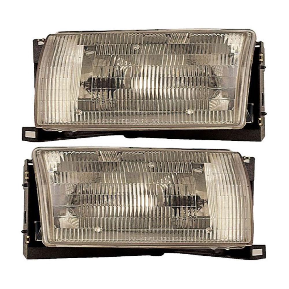 Mercury Villager                       Headlight Assembly PairHeadlight Assembly Pair