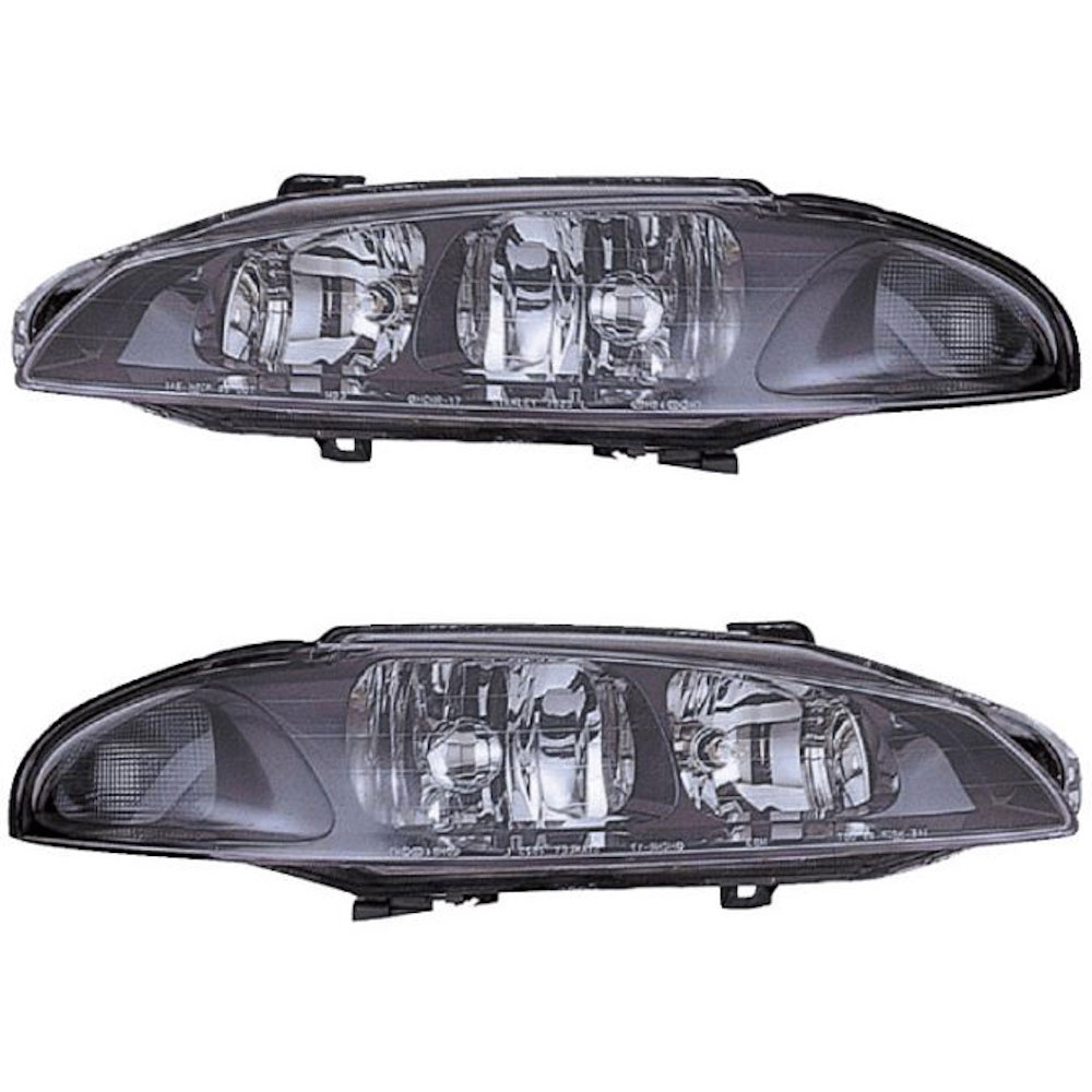 Mitsubishi Eclipse                        Headlight Assembly PairHeadlight Assembly Pair