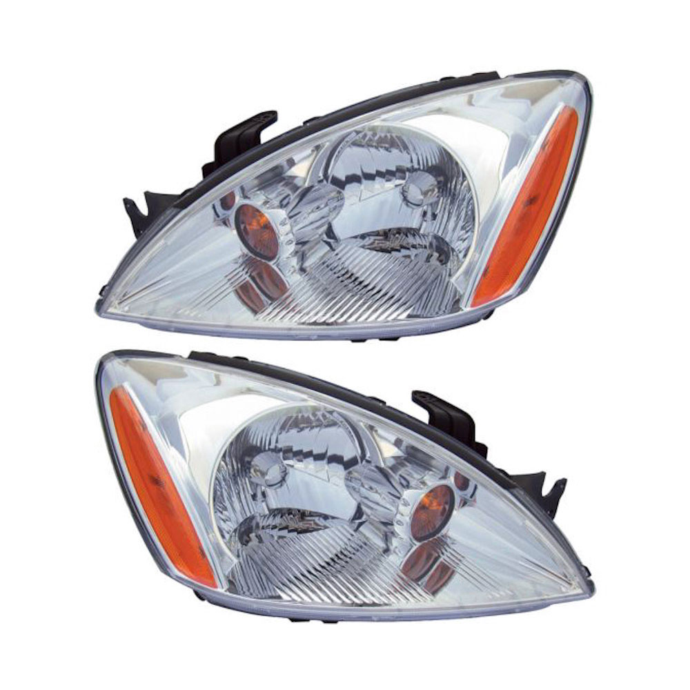 Mitsubishi Lancer                         Headlight Assembly PairHeadlight Assembly Pair