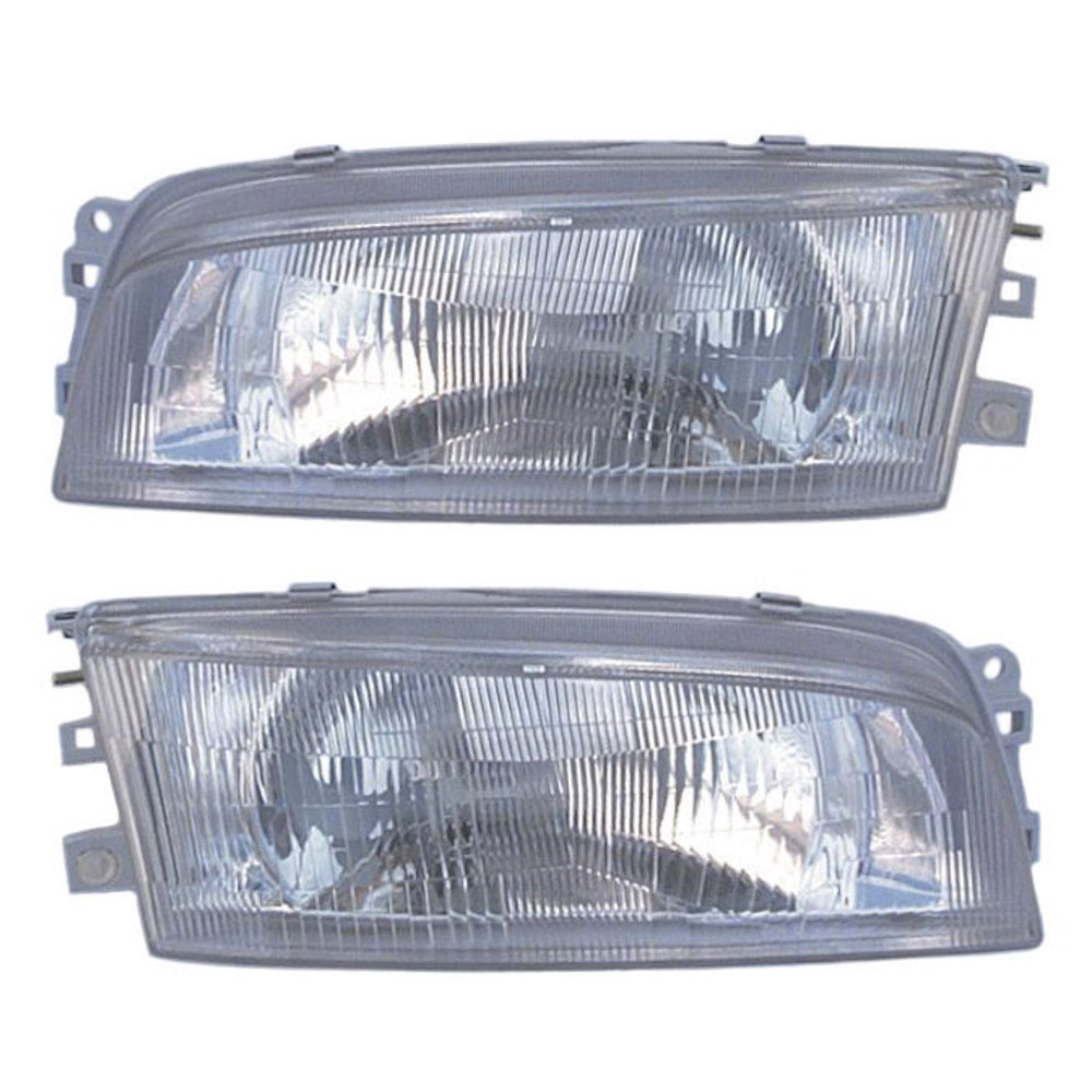 Mitsubishi Mirage                         Headlight Assembly PairHeadlight Assembly Pair