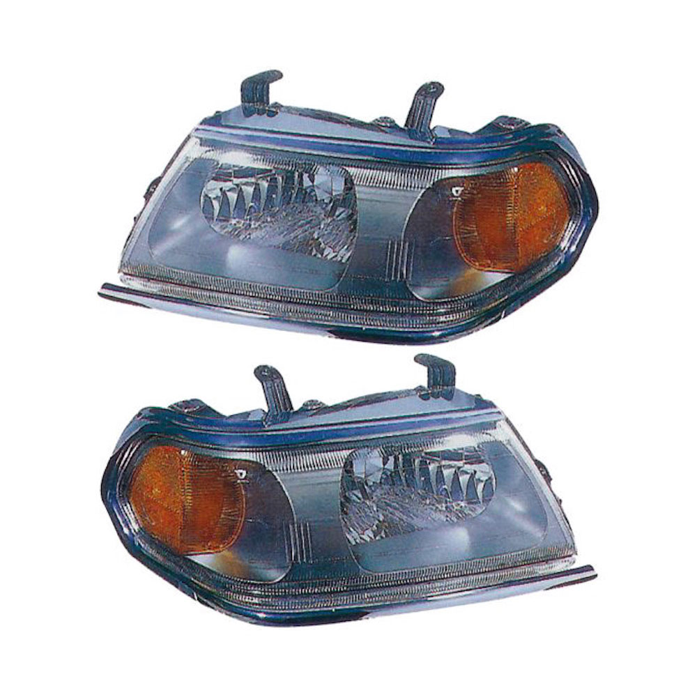 Mitsubishi Montero                        Headlight Assembly PairHeadlight Assembly Pair